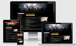 CMSimple Template RockMusic2020